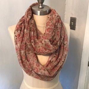 Loft medium length infinity scarf